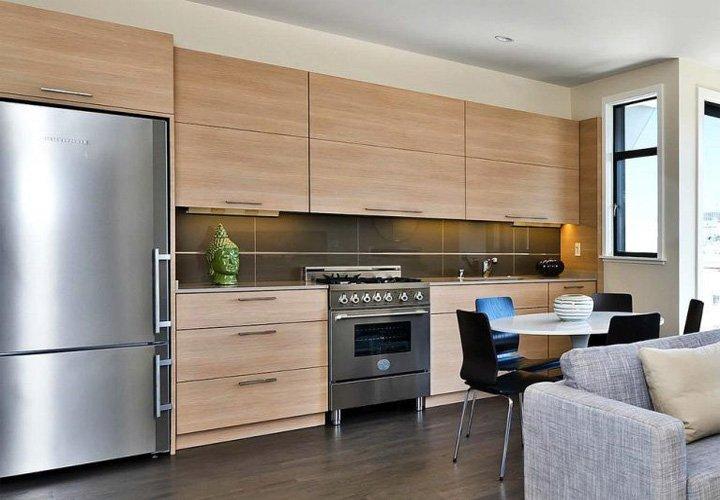 Tủ bếp gỗ Laminate sự lựa chọn hoàn hảo thumbnail