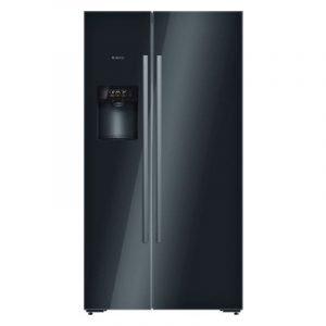 Tủ lạnh Bosch 2 cánh HMH.KAD92SB30 mặt kính đen